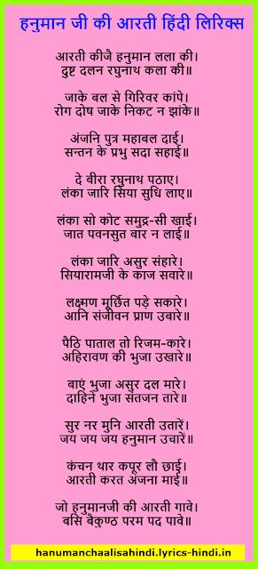 Hanuman Aarti Image File