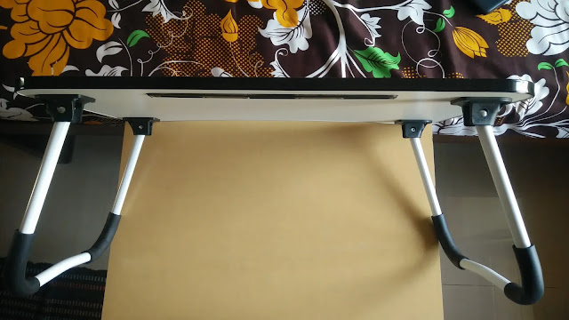 Tarkan foldable laptop table foldable metal legs