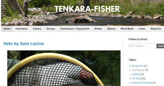 The New Tenkara-Fisher