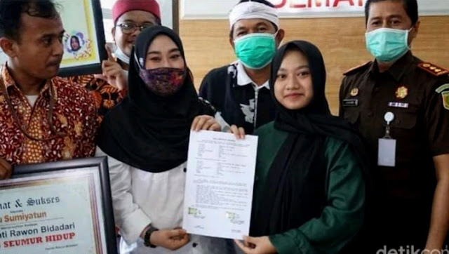 Kang Dedi Berperan sebagai mediator, Alhamdulilah Agesti cabut laporan