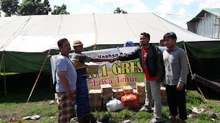 <b>IKAMAN Gresik Salurkan Bantuan Gempa Lombok</b>