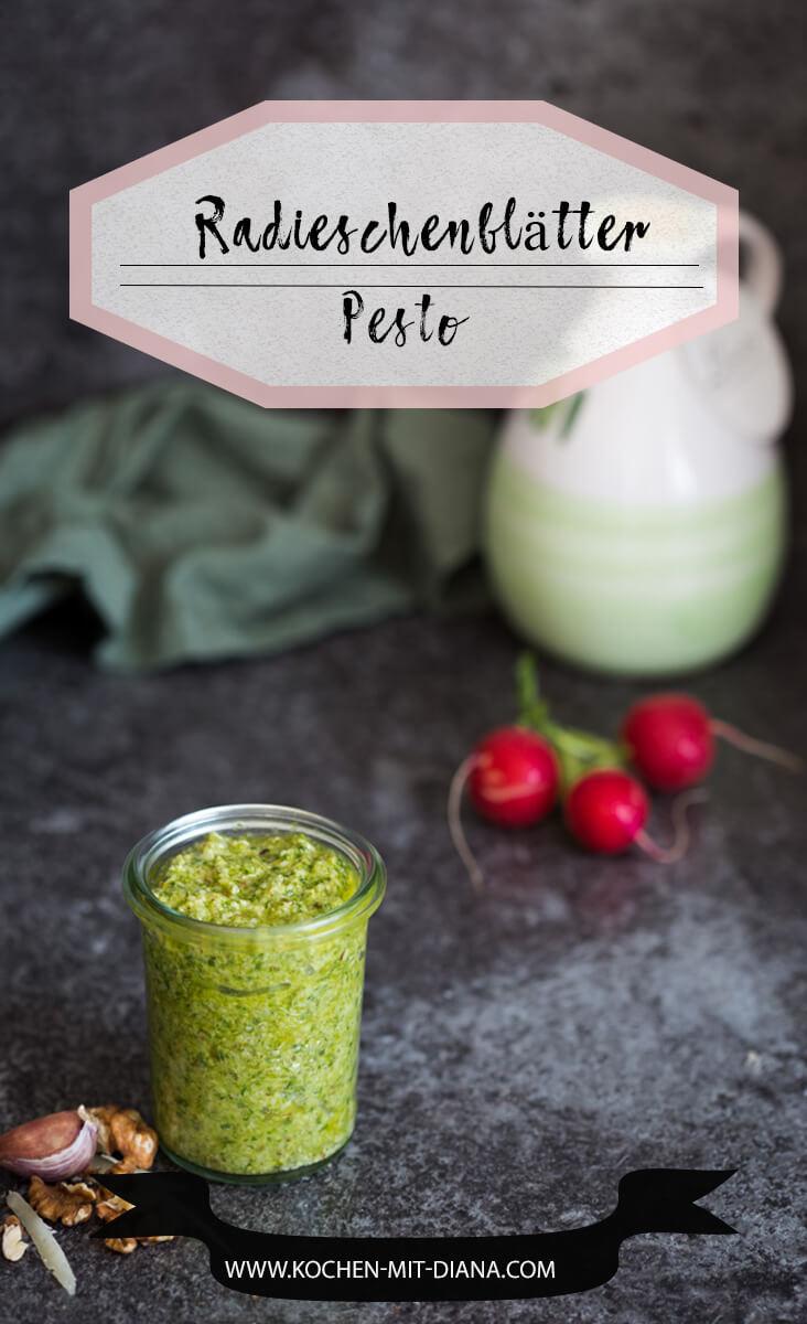 Radieschenblätter-Pesto