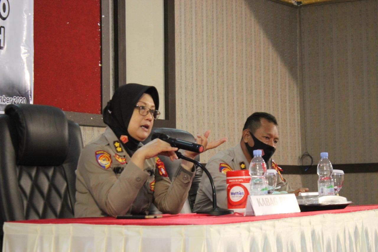 Tim Supervisi Yanlik Biro Rena Polda Kalteng Lakukan Taklimat Awal di Polres Kobar