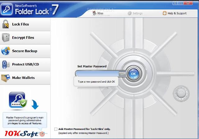 Folder Lock 7.7 Latest Version Free Download