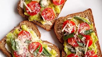 Tostadas de tomates