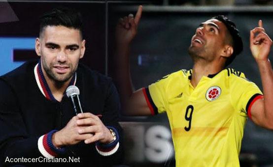 Futbolista cristiano Radamel Falcao da su testimonio