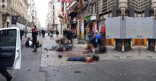 Κάμερα Ασφαλείας, Βομβιστή Αυτοκτονίας, Ώρα της Έκρηξης, Κωνσταντινούπολη.