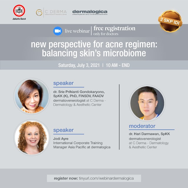 """(FREE 2 SKP IDI) """"New Perspective For Acne Regimen: Balancing Skin's Microbiome"""""""
