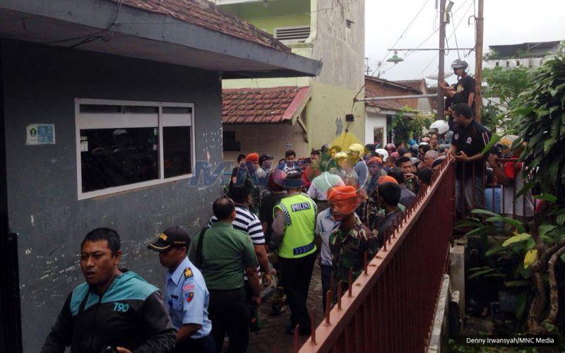 Foto Pesawat Latih TNI yang Jatuh di Malang