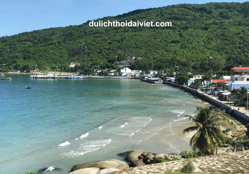 Cảnh đẹp tại đảo Hòn Sơn Rái