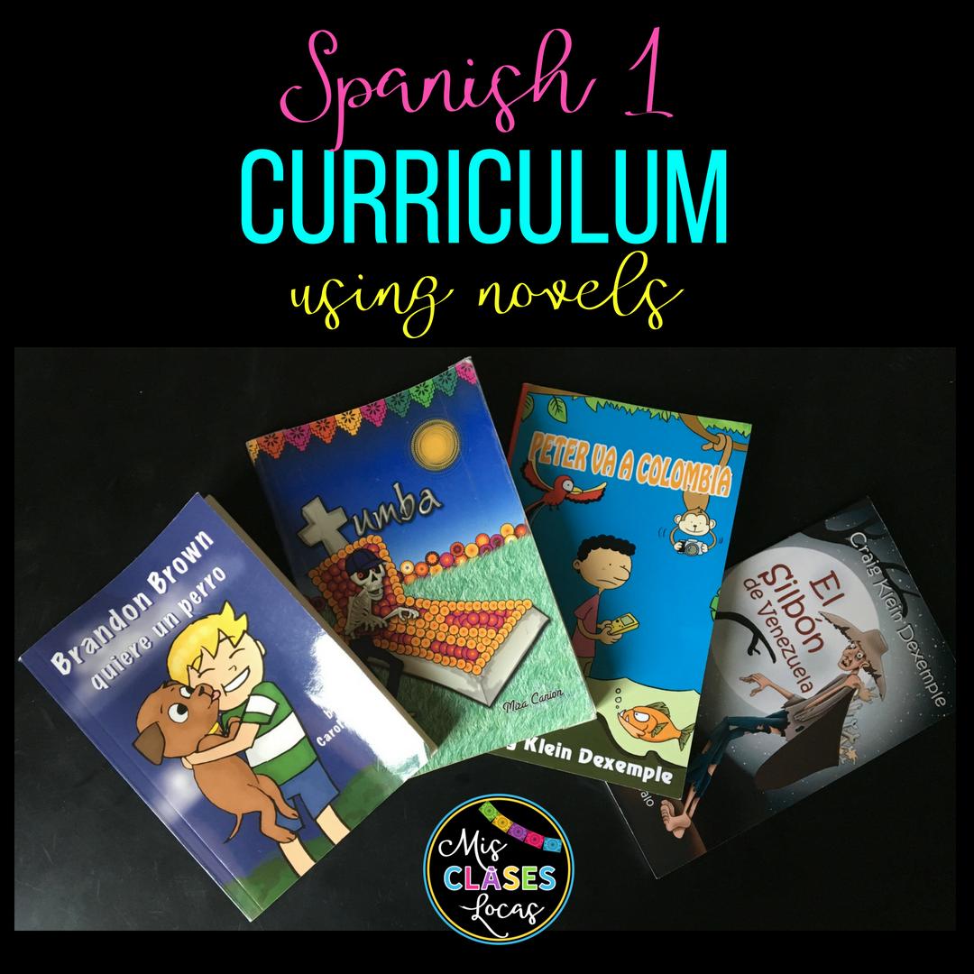 Mis Clases Locas Curriculum for Spanish 1-4 - Mis Clases Locas