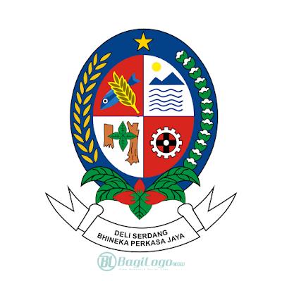 Kabupaten Deli Serdang Logo Vector