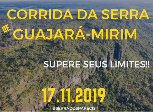 Corrida da Serra acontece neste domingo, em Guajará-Mirim