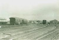 1940 - Compañía General de Buenos Aires, terminal Ferrocarril Belgrano (Actualmente San Martín y Virasoro)