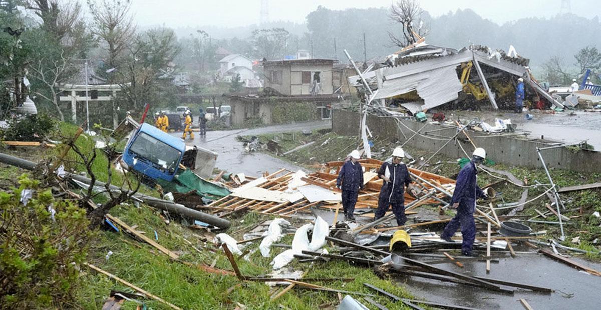 tifón Hagibis en Japón