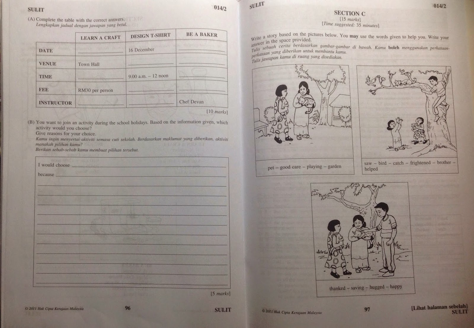 Maths Questions For Year 6 Upsr