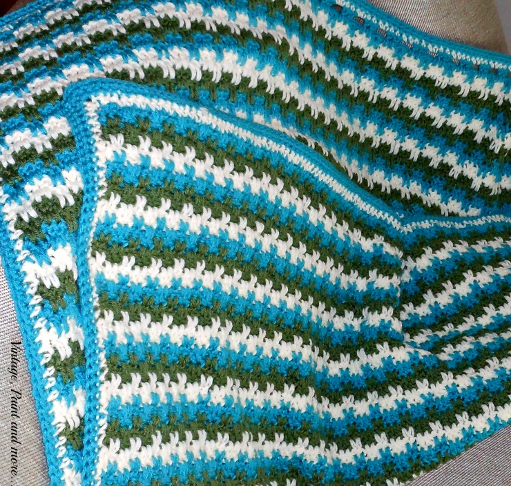 Another Crocheted Afghan Vintage Paint And More
