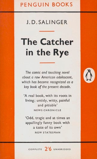 JD SALINGER INSPIRED SONGS FROM 'CATCHER IN THE RYE'
