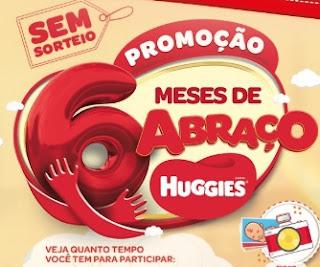 Cadastrar Promoção Huggies 6 Meses Abraços - Ganhe Prêmios Todos os Meses