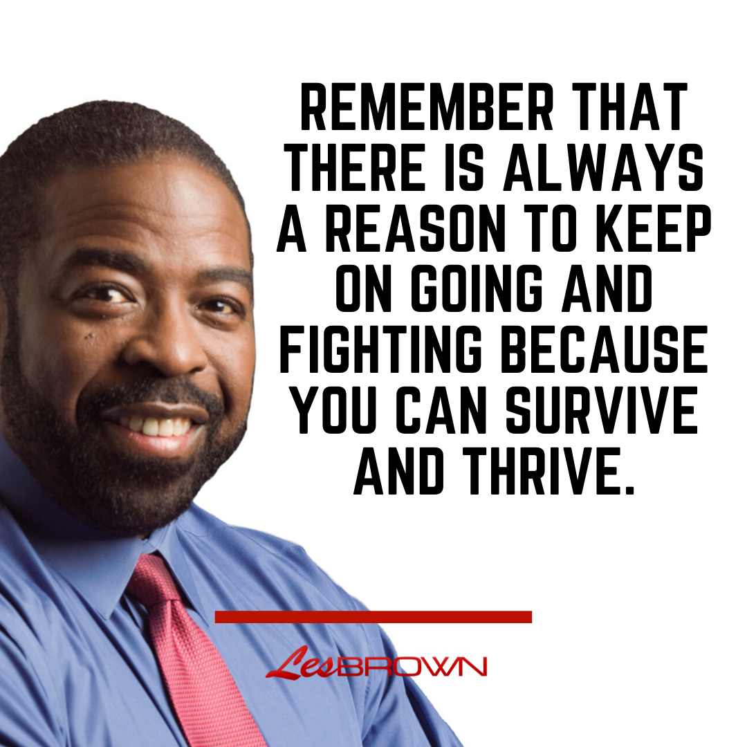 [BEST] 100 Inspirational Quotes by Les Brown