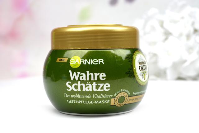 Garnier Wahre Schätze Mythische Olive Tiefenpflege Maske | Vorne
