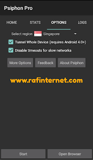 Cara Setting Psiphon Pro dan Qpython By U provider