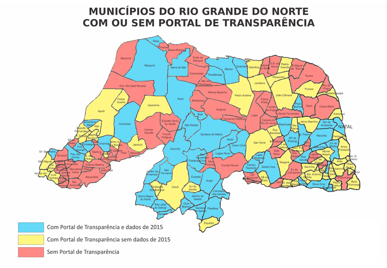 Mapas do Rio Grande do Norte