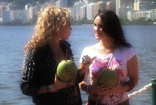 DULCE MARIA FOTOS COM OS REBELDES BRASIL RECORD