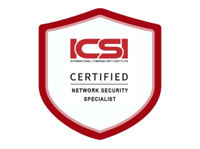 ICSI | CNSS Certified Network Security Specialist - TechCracked