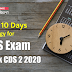 Last 10 Days Strategy for CDS Exam: Crack CDS 2 2020