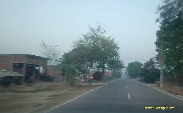 Lalganj Tarwa Road