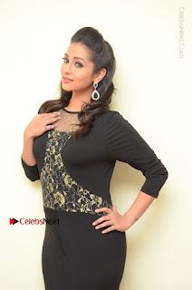 Telugu Actress Manasa Manohar Stills in Black Long Dress at Naku Nene Thopu Turumu Trailer Launch  0009.JPG