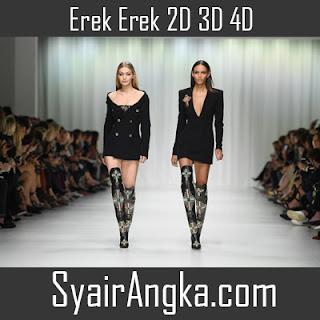Erek Erek Menjadi Model 2D 3D 4D