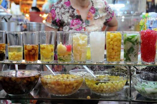 Tráng miệng bằng chén chè Huế vừa thơm ngọt vừa thanh mát (Ảnh: wiki-travel.com.vn)