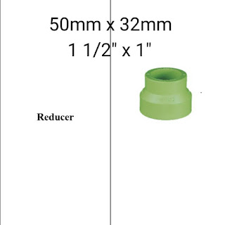 Jual reducer pipa ppr lesso 50mm x 32mm