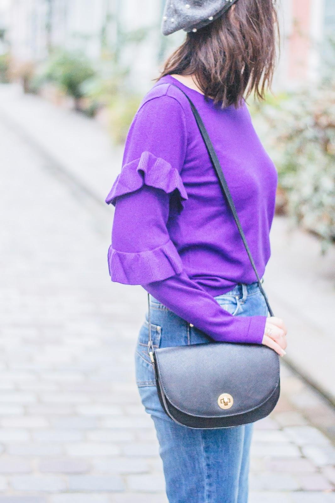 sacsabrina - Purple Sweater and Vibrant Homes