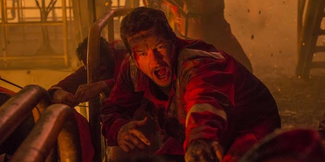 Mark Wahlberg em HORIZONTE PROFUNDO - DESASTRE NO GOLFO (Deepwater Horizon)