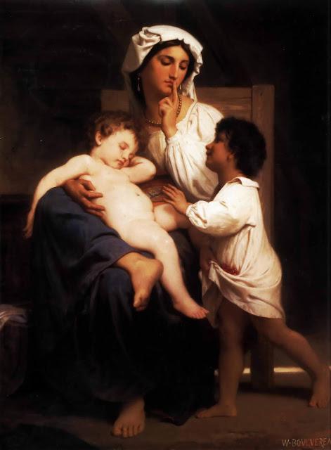 Адольф Вильям Бугро - Сон (1863)