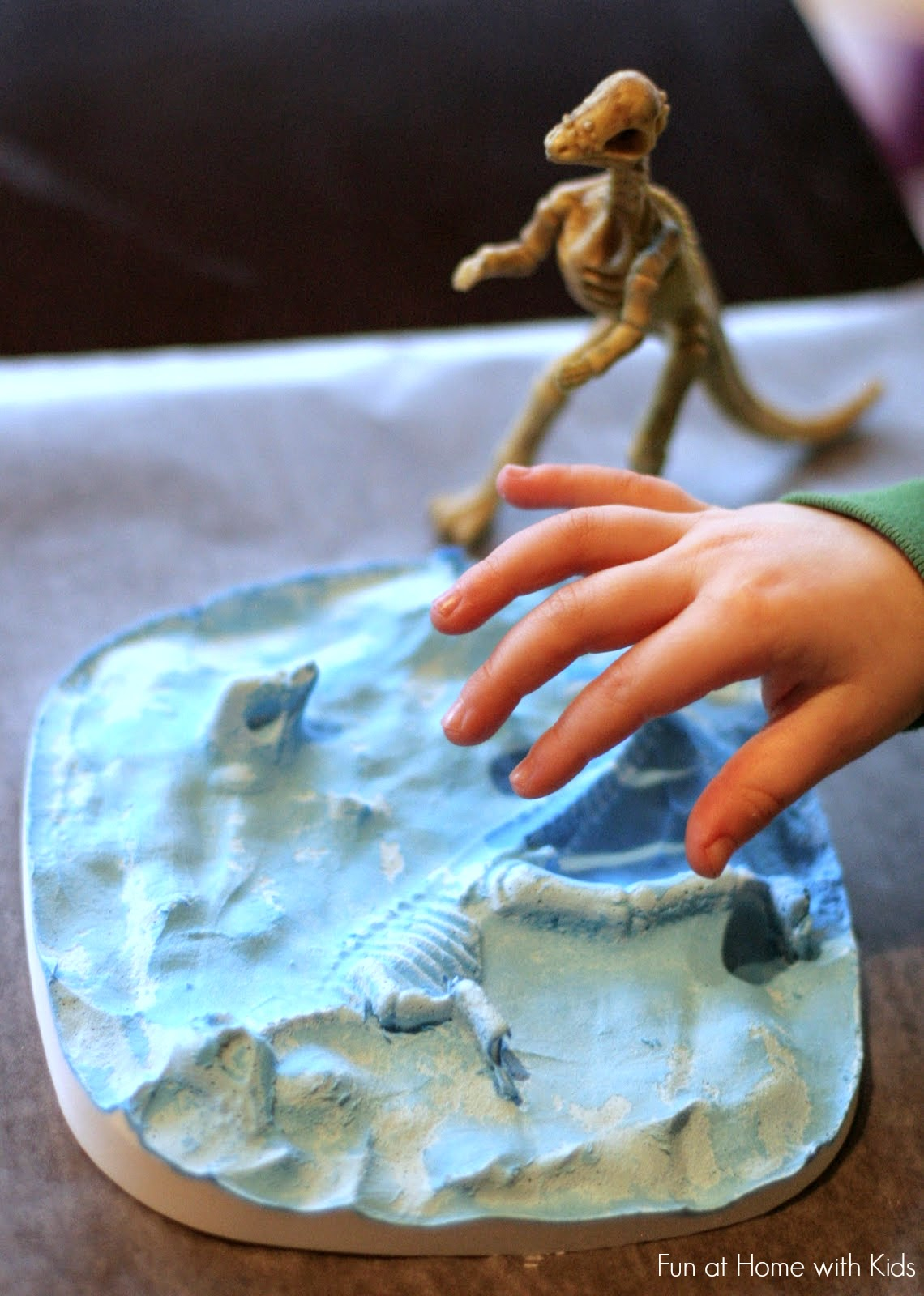 making your own dinosaur fossils