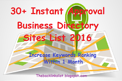 Top Business Directory Site List 2016