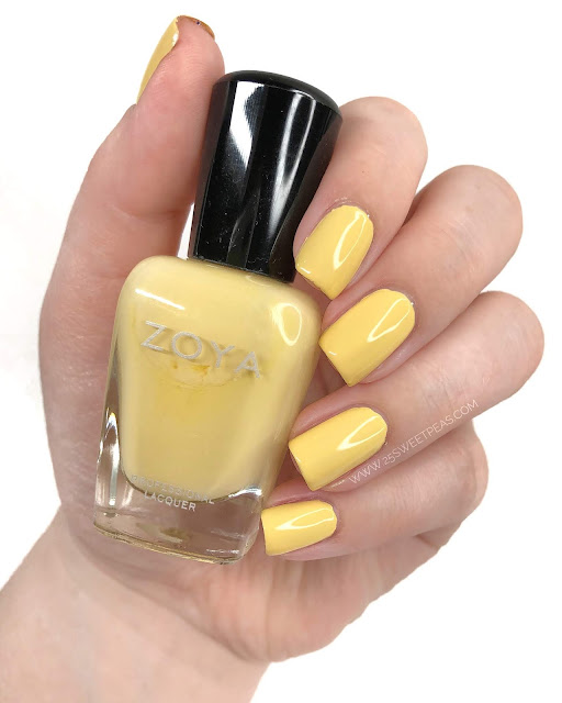 Zoya Bee Swatch 25 Sweetpeas
