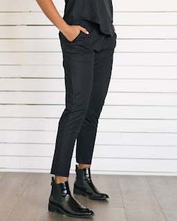 Black Everywhere Pants