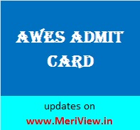 APS PGT TGT PRT Admit card