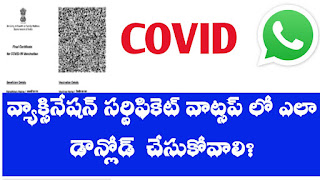 Covid Vaccination Certficate: How to Download Covid Vaccination Certificate in Whatsapp