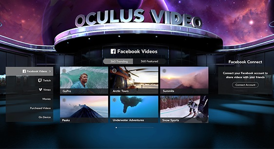 Oculus brings new social features to Samsung Gear VR