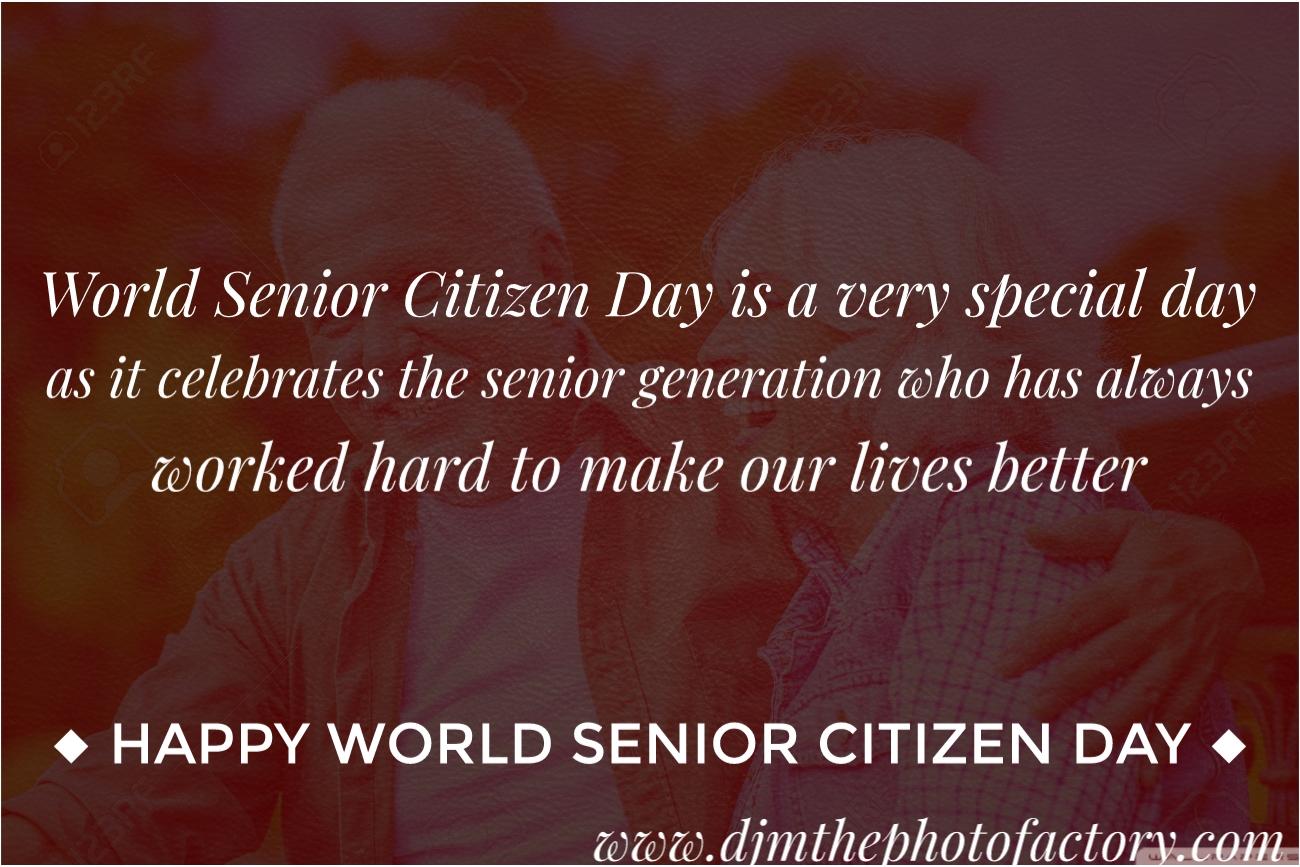 World Senior Citizen Day 2019 Wishes Images, Quotes, Whatsapp Status