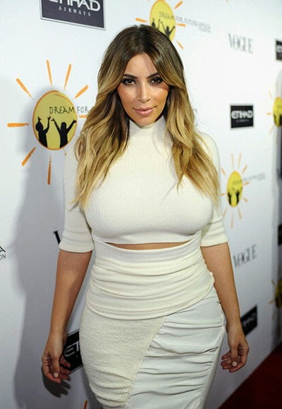 Kim Kardashian struggle for Dreams of a happy future of Africa