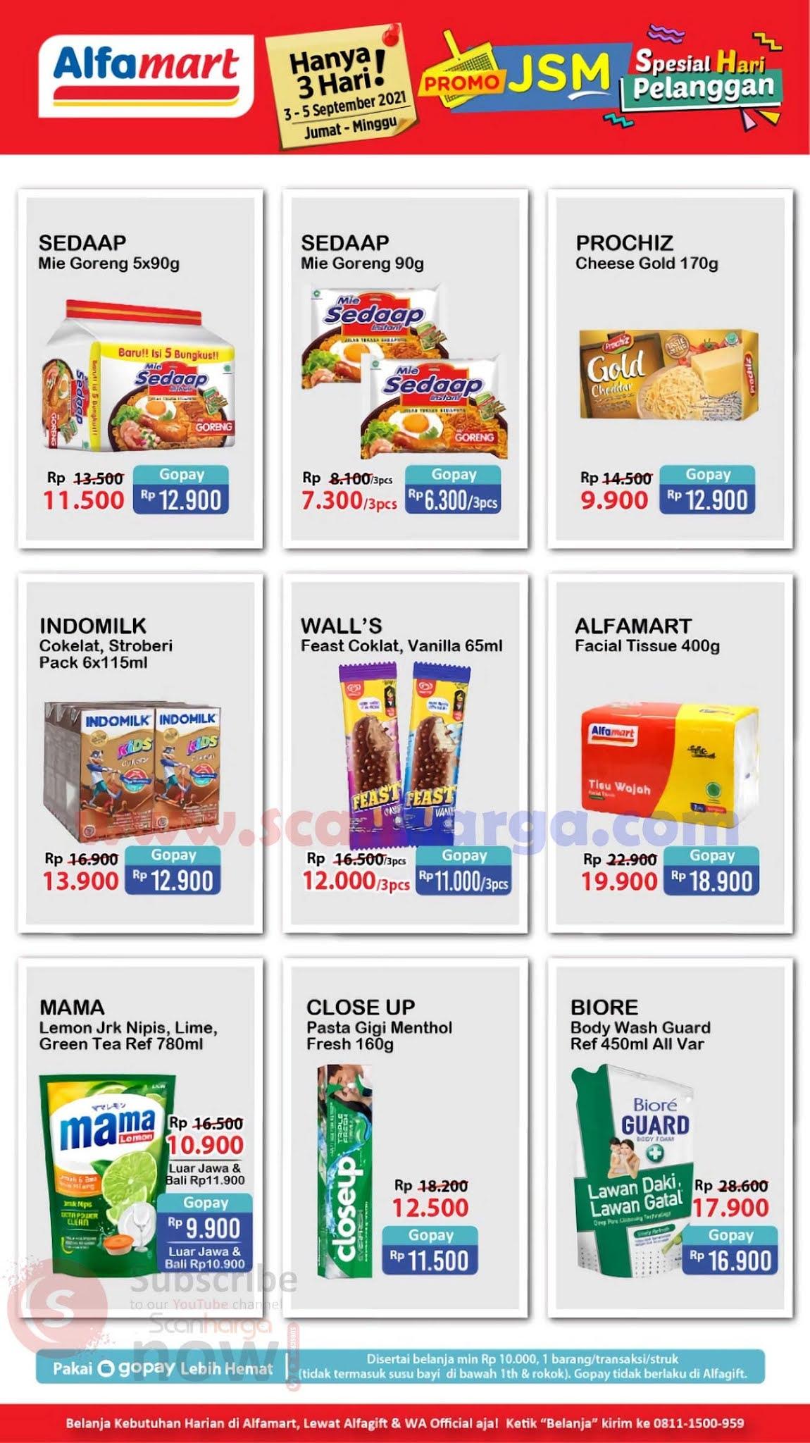 Katalog Promo JSM Alfamart Weekend 3 - 5 September 2021 5
