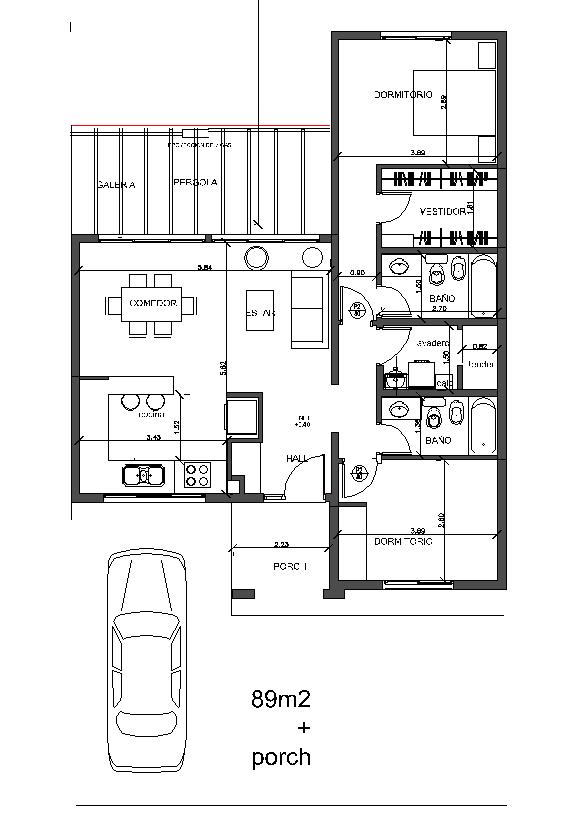 Arquitectura y dise o proyectos for Escaleras 15 metros