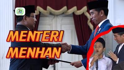 Viral!! Video Santri Ramal Prabowo Jadi Menteri Jokowi